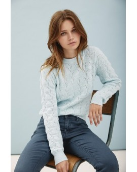 CATELYN O-NECK PULLOVER